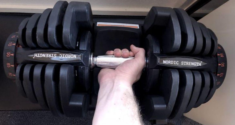 Utroligt Håndvægte - 60 alm. og justerbare håndvægte - 0,5-100 kg PI93